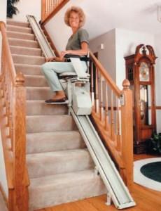 télésiège escalier