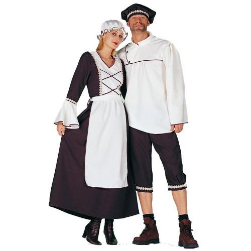 un deguisement moyen âge pour couple