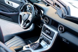 intérieur d'un voiture